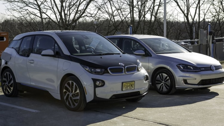 BMW, VW partner with ChargePoint for high-speed charging network