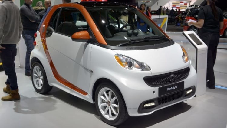 Smart Fortwo Flashlight edition signs off in Detroit