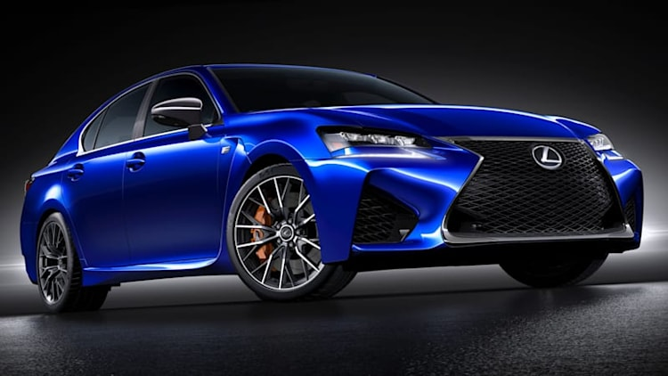 2016 Lexus GS F revealed ahead of Detroit debut