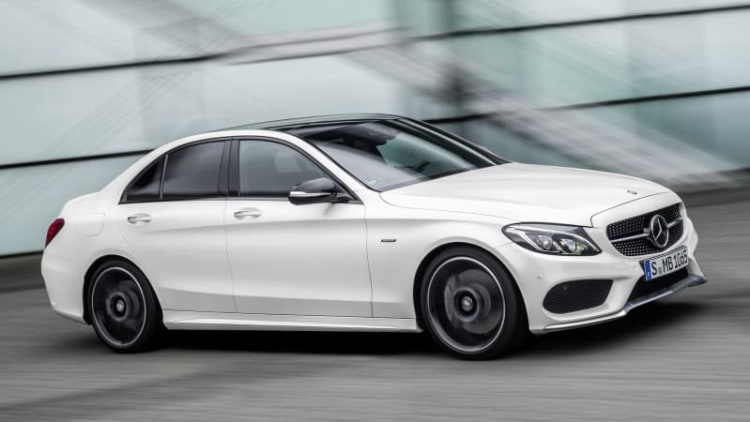 2016 Mercedes-Benz C450 AMG Sport bridges the gap between C300 and C63