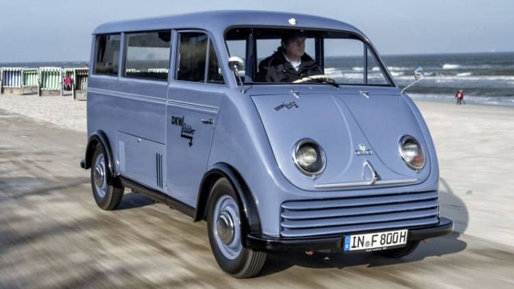 1956 DKW Audi electric van beautifully restored