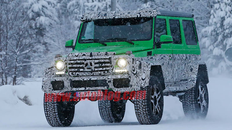 Mercedes-AMG Hulks out again with new G63 test