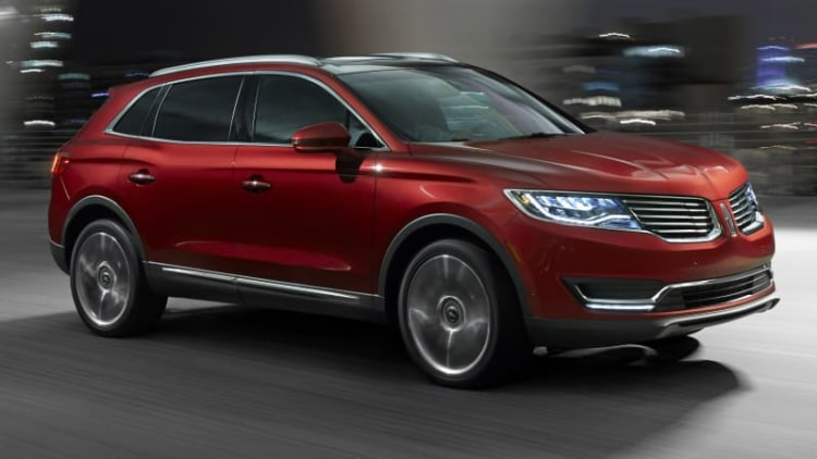 2016 Lincoln MKX gets 330-hp EcoBoost V6, new auto braking system