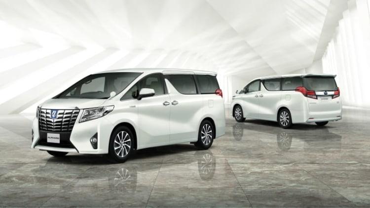 Toyota Alphard and Vellfire JDM minivans look weirder than ever