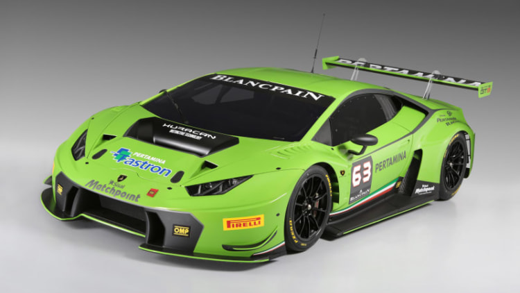 Lamborghini Huracan GT3 racer unveiled [w/video]