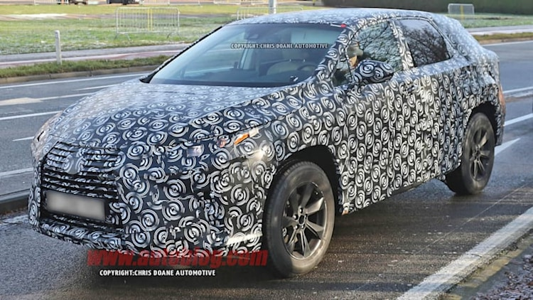 Next Lexus RX looks ready to roll