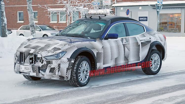 Maserati's Levante crossover gets cold weather test