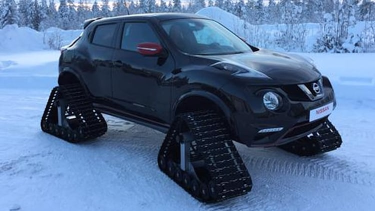 Nissan Juke Nismo RSnow is dashing through the snow