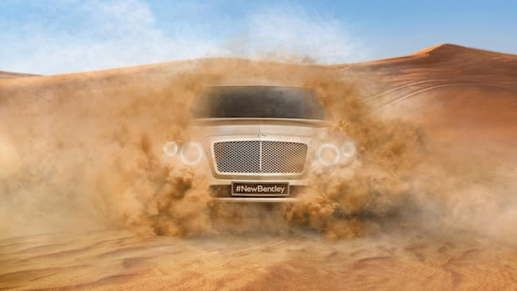 Bentley Bentayga SUV to come in hybrid, diesel variants in 2017