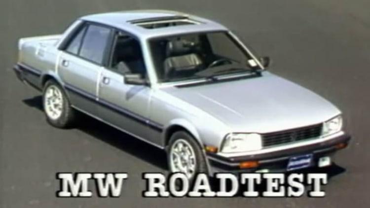 VW Jetta GLI, Peugeot 505 are MotorWeek's 1986 Euro sport sedan alternatives