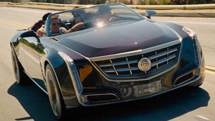 Cadillac Ciel concept features in Entourage trailer