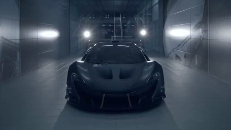 McLaren P1 GTR production model debuting in Geneva