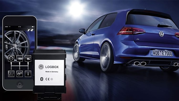 VW LogBox and Race App performance data logger for R models [w/video]