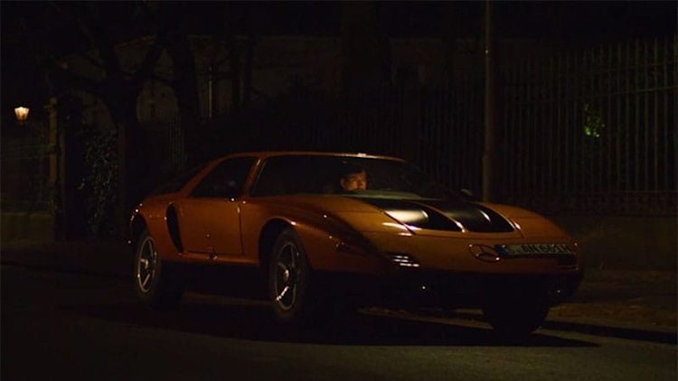 Mercedes C111 concept in commercial spoof A Fistful of Wolves