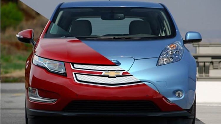 Nissan Leaf sales double Chevy Volt to close out winning 2014