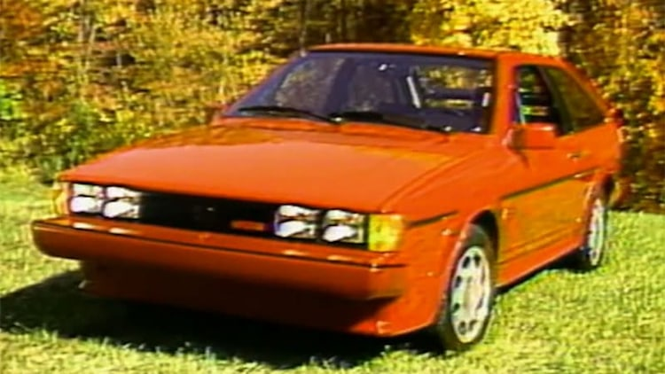 MotorWeek looks back at the 1986.5 VW Scirocco 16V