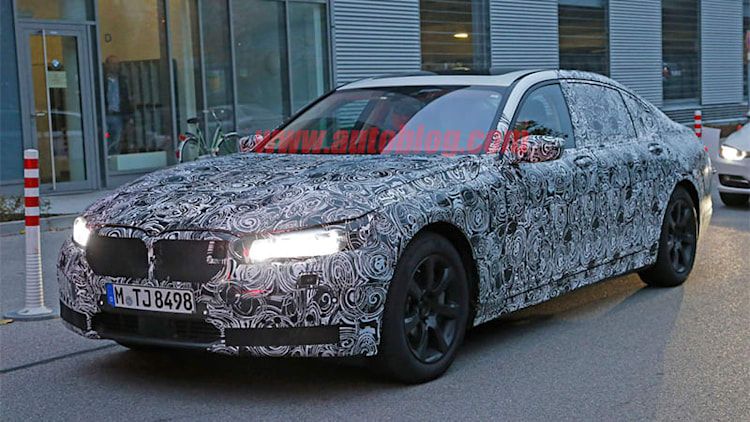 Next-gen BMW 7 Series options include 'Sky Lounge' roof, leather engine cover