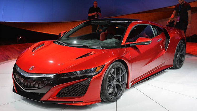 Acura NSX is industry's first supercar with a female design lead
