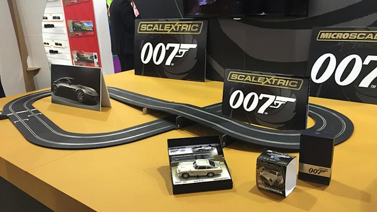 Look for Jaguar C-X75 in your new James Bond Scalextric set