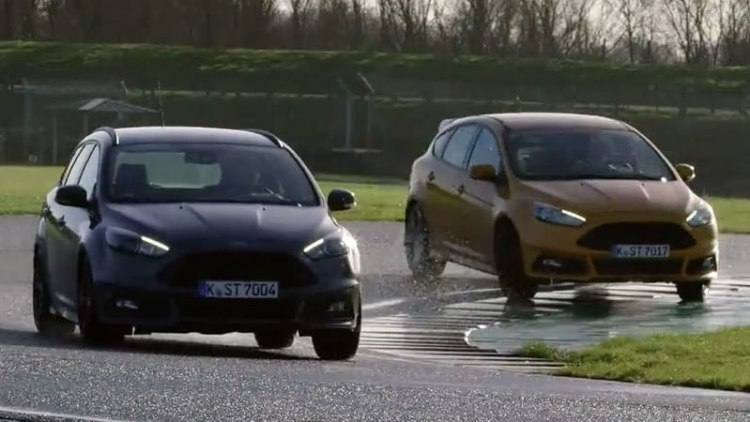 Ford Focus ST diesel estate in track showdown with Focus ST hatch