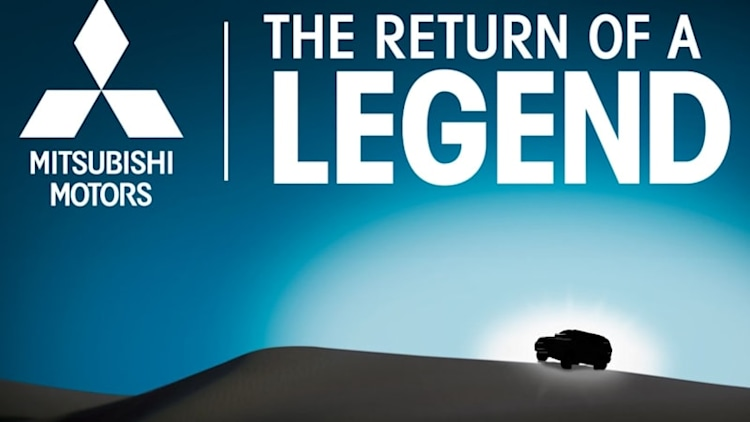 Mitsubishi bringing SUV 'Legend' to the Chicago Auto Show