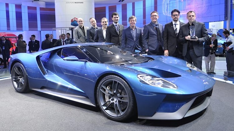 Ford GT, Buick Avenir and Audi Q7 take 2015 EyesOn Design awards