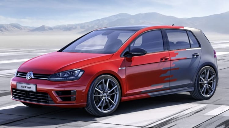VW previews huge screens, gesture control with Golf R Touch Concept at CES