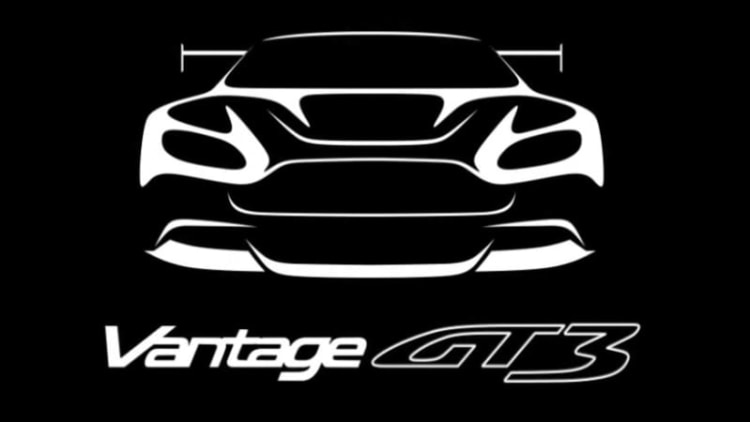Aston Martin teases extreme Vantage GT3 for Geneva
