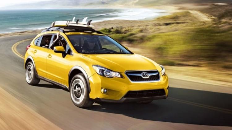 Subaru XV Crosstrek gets special edition model, retina-searing paint