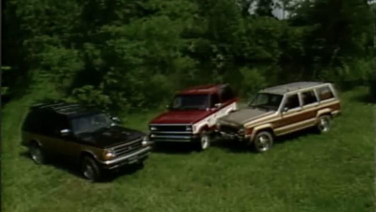 '84 MotorWeek Cherokee, Bronco and Blazer comparison indulges your SUV nostalgia