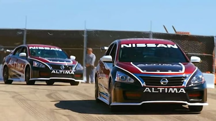 Nissan 'Ride of Your Life' campaign turns an Altima into a race car [w/video]
