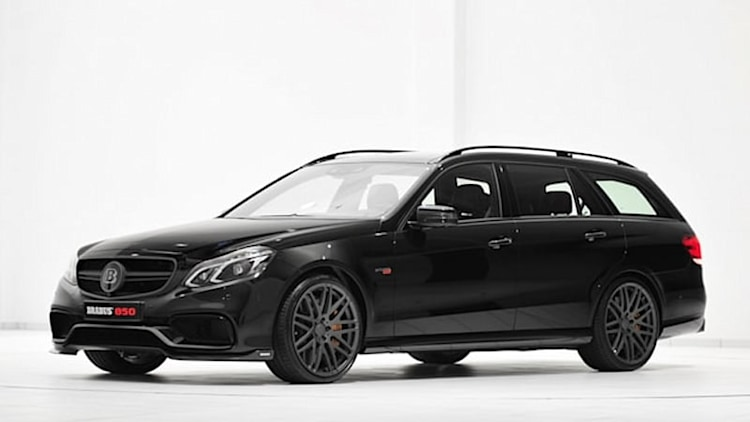 Mercedes E63 AMG wagon gets 838 hp thanks to Brabus