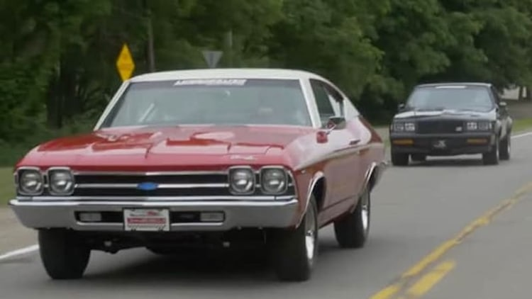 1969 Chevrolet Chevelle vs 1987 Buick GNX in Generation Gap showdown
