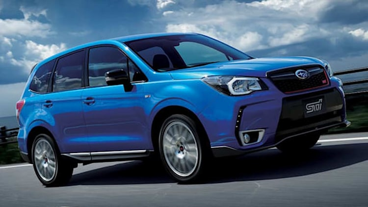 Subaru launches STI-tuned Forester tS in Japan