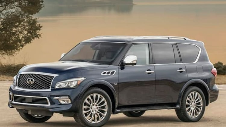 Infiniti QX80 refreshed for 2015, range-topping Limited trim added
