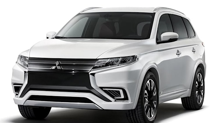 Mitsubishi to showcase Outlander PHEV Concept-S in Paris