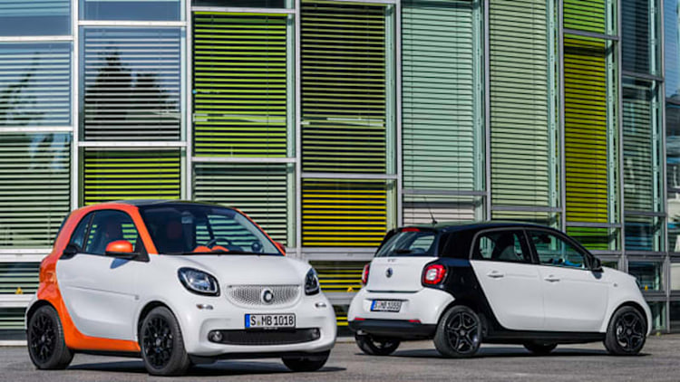 Smart Fortwo, Forfour reborn with fresh styling on new platform [w/video]