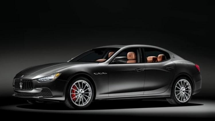 100th Anniversary Maserati Ghibli stars in the 2014 Neiman Marcus catalog