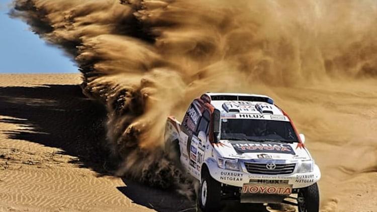 Biodiesel Toyota Land Cruiser 200 ready for Dakar 2014