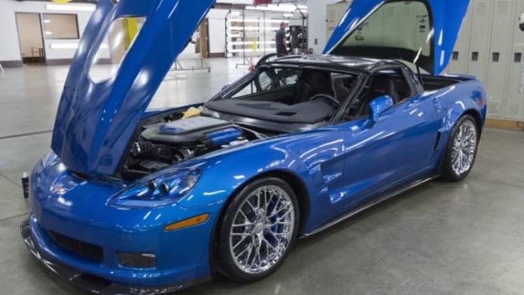 First Corvette Museum sinkhole victim restored [w/video]