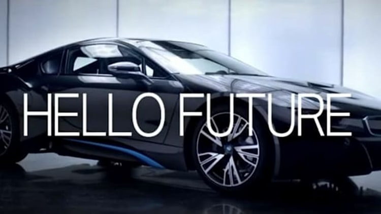 BMW introducing i8 to US with Hello Future Olympics ad