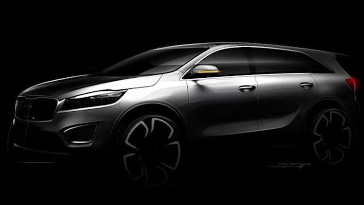 Kia teases next Sorento [w/video]