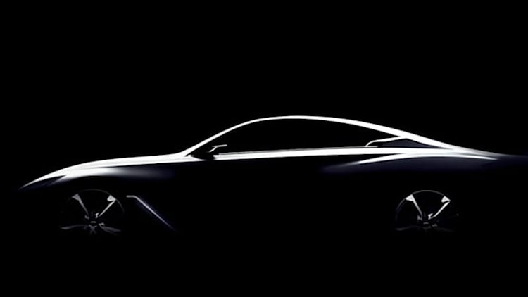 Infiniti Q60 Concept a shadowy vision of future coupe