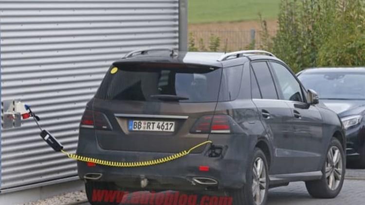 Mercedes testing plug-in hybrid GLE
