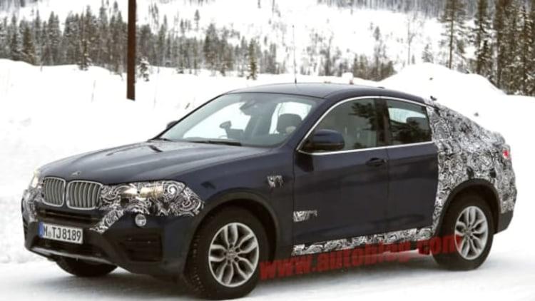BMW X4 slantback is nearly here