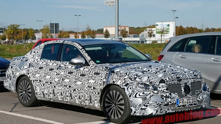 First look at all-new Mercedes E-Class