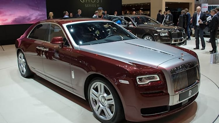 Rolls-Royce Ghost Series II rolls in with some subtle updates [w/video]