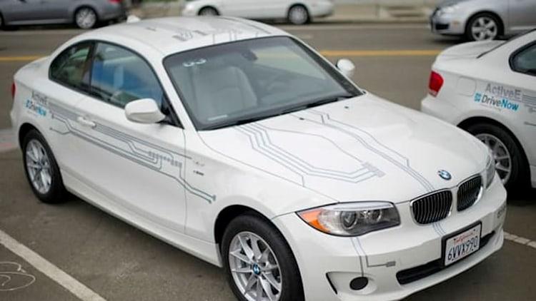 BMW adds on-street parking to DriveNow carsharing in SF