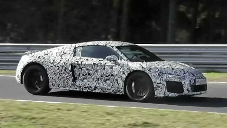 Next Audi R8 seen and heard in this spy video