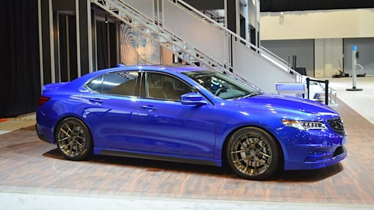 Acura teams with Galpin to sport-up the 2015 TLX